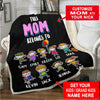 This Nana/Mom Belongs To - Custom Blanket