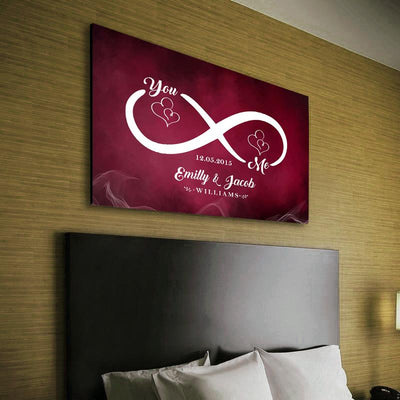 New Edition - Love Each Other Infinity Canvas