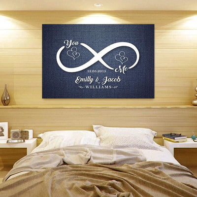 New Edition - Infinity Love Custom Canvas