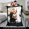 Forever And Always Custom Photo Blanket