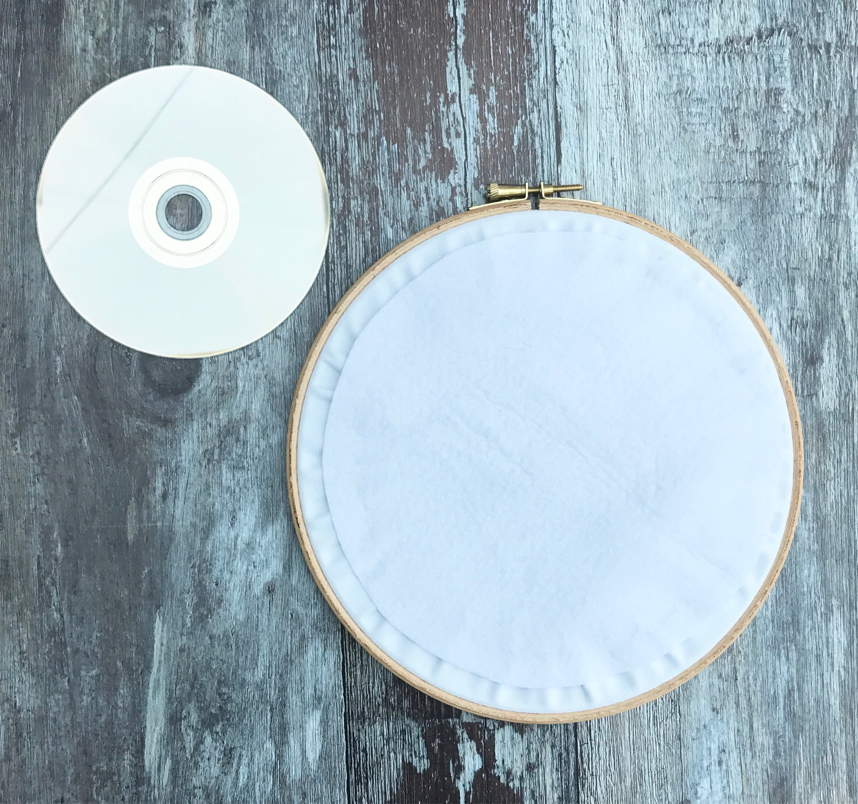 This aint my first rodeo, Embroidery hoop art