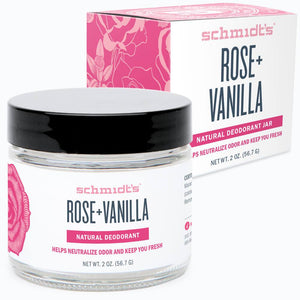 Rose and Vanilla Deodorant Paste