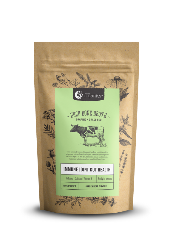 Beef Bone Broth Powder Garden Herb