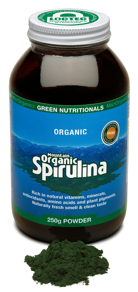Mountain Organic Spirulina Powder 250g