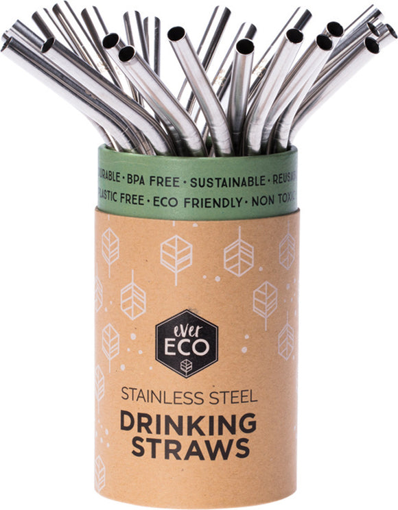 Stainless Steel Straw Bent