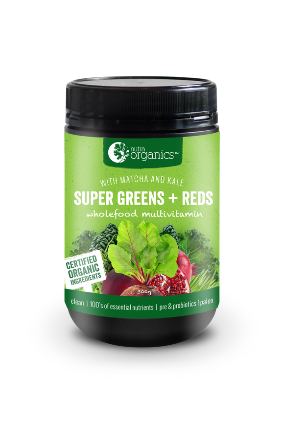 Super Greens & Reds Powder - 600 g