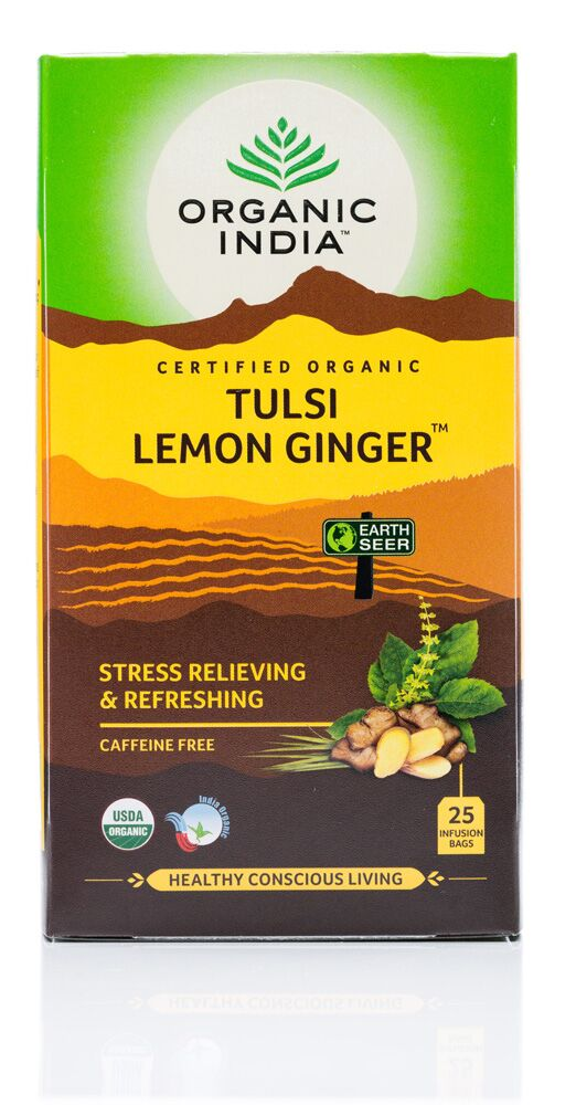 Tulsi Lemon Ginger