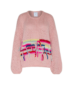 NEW: sweater Loretta fringed