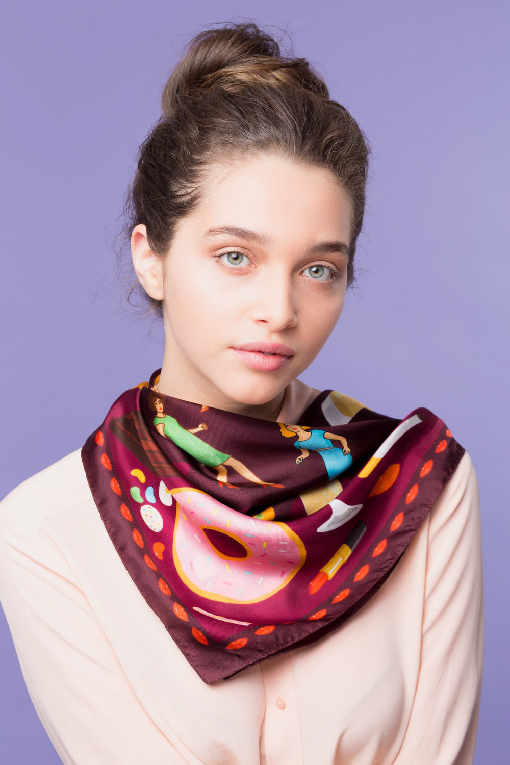 Guilty Pleasures Silk Scarf