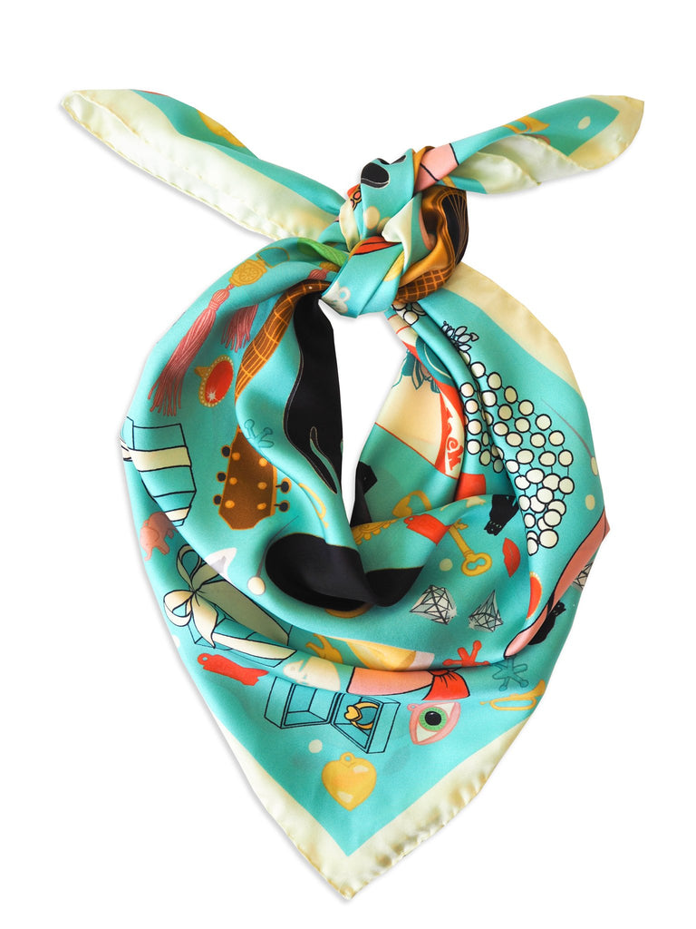 Breakfast at Tiffany's Silk Scarf