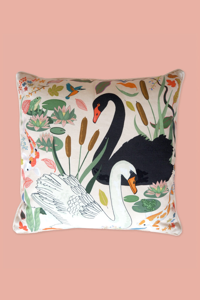 Lily Pond Cushion