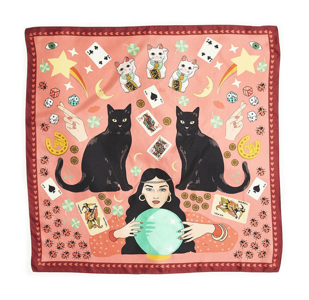Today is your Lucky Day Silk Scarf
