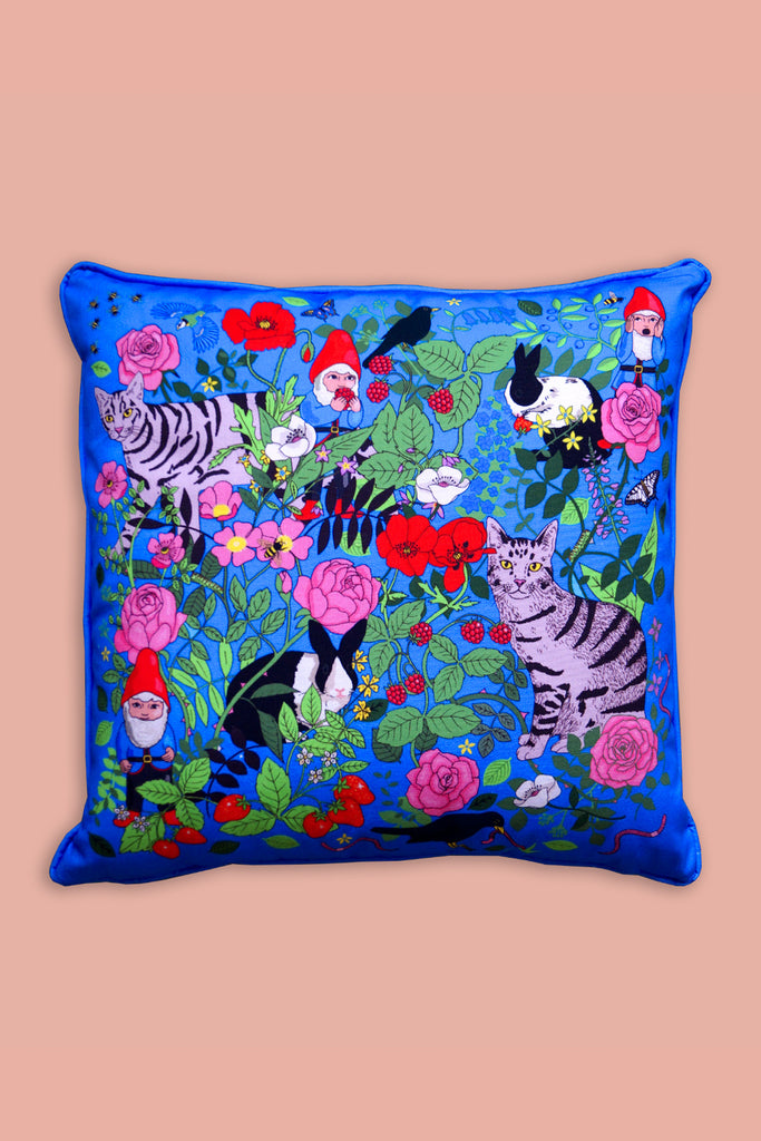 Garden Gnomes Cushion