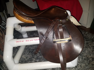 Crosby Mark VI Combination All Purpose English Saddle
