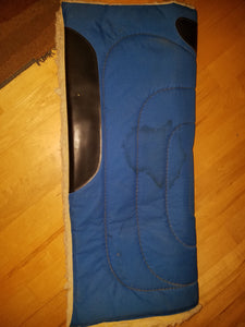 Fleece Western Saddle Pad
