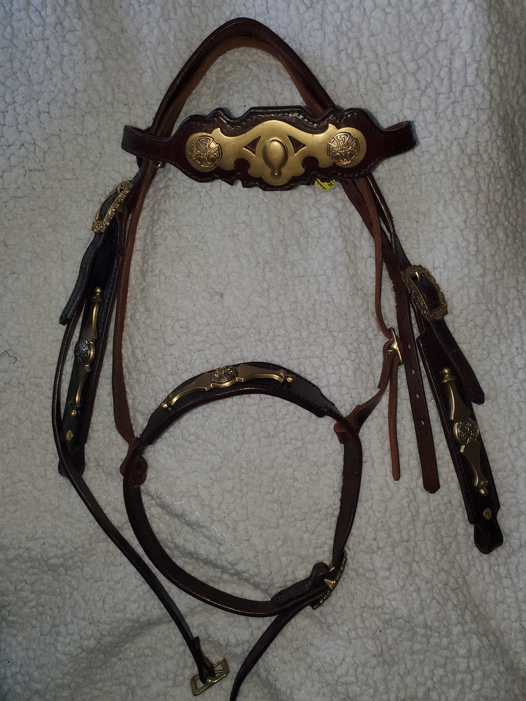 Handmade Celtic Style Headstall with Noseband - WOW!