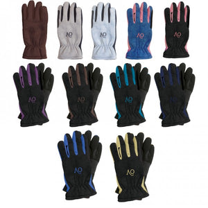 Ladies Ovation Polar Suede Gloves