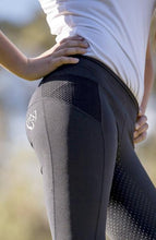 Load image into Gallery viewer, BARE Equestrian Performance Tights - Black Rider