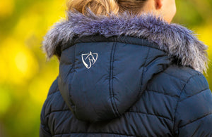 BARE Equestrian Winter Series - Leah Jacket - Navy