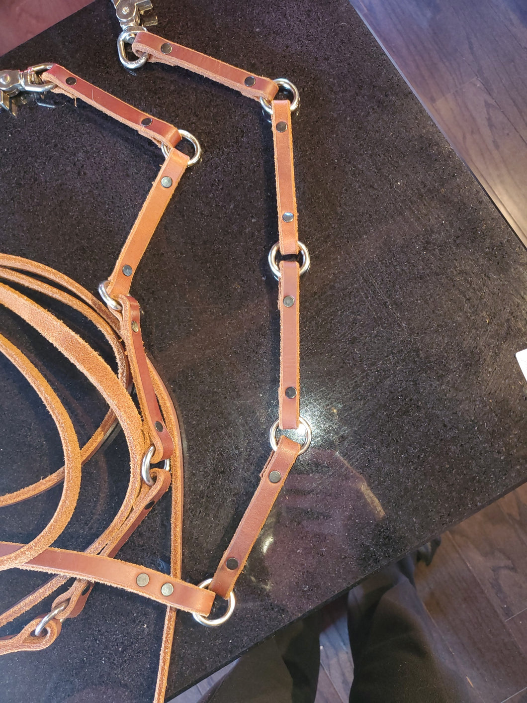 Natural Ring Style Reins by Re-Ride
