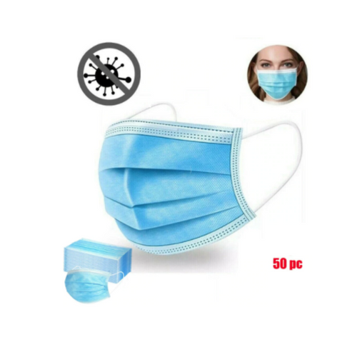 Masque de protection 3plis (50pcs)