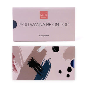 OTE-016 Plaque de stamping. You Wanna Be On Top #1