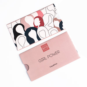 OTE-024 Plaque de stamping. Girl power #2
