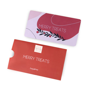 OTE-034 Plaque de stamping. Merry Treats #2