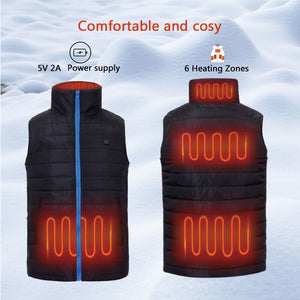 Battery Heated Vest For Men 30
