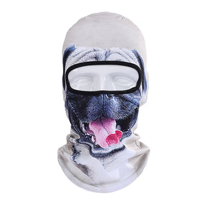 Animal funny face mask for cycling or skiing | Riding headscarf  mask | Keepwarming