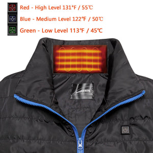 Battery Heated Vest For Men 6