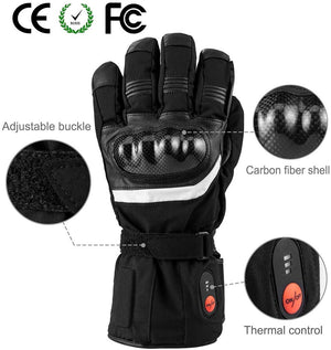 Battery Powered Heated Ski Gloves 3