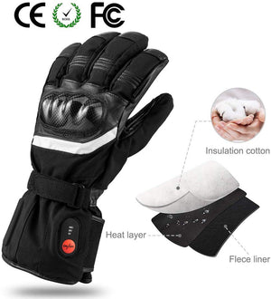 Battery Powered Heated Ski Gloves 4