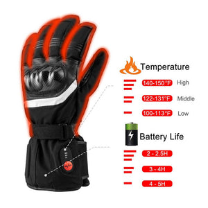 Battery Powered Heated Ski Gloves 1
