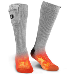 Rechargeable Battery Powered Socks 1