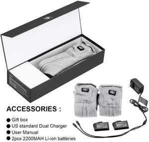 Rechargeable Battery Powered Socks 6