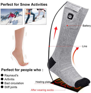 Rechargeable Battery Powered Socks 2