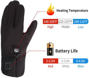 Moderate Thickness Battery Heated Gloves 2