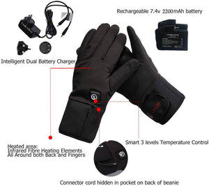 Moderate Thickness Battery Heated Gloves 5