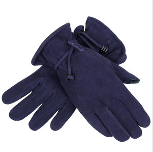 Womens Leather gloves | Winter gloves | Sensitive Touch Screen Fingers