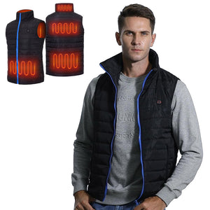 Battery Heated Vest For Men 9