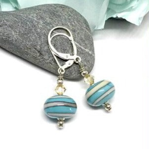 Spring Turquoise Earrings