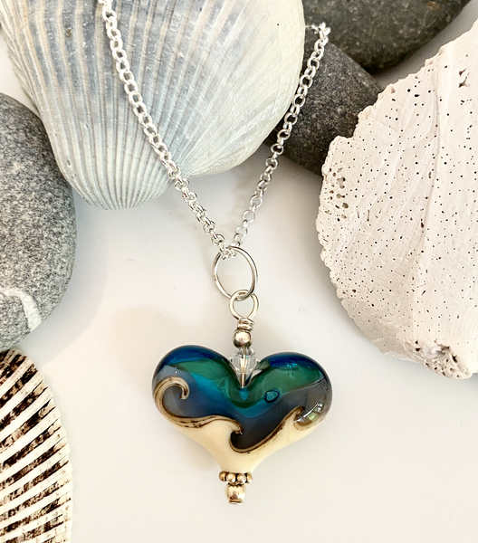 Mini Beach Heart 2