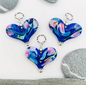 "Monet ""Water Lilies"" Inspired Heart"