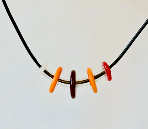 Multicolor Floating Necklace