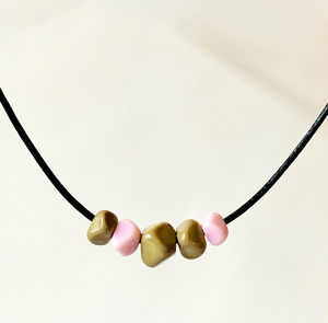 """The Judy"" Geometric Floating Necklace"