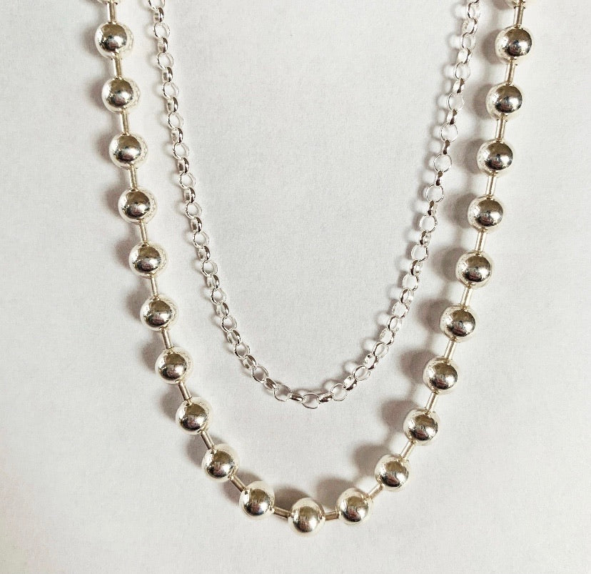 Sterling silver chain $12-$89