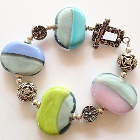 Two-Tone Collection Bracelet