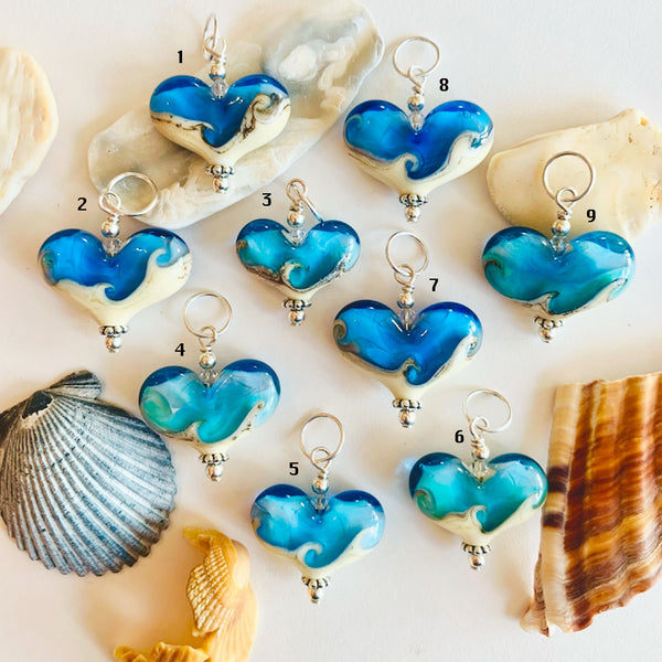 Small Beach Hearts