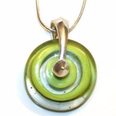 Pendant - Disk - Lime